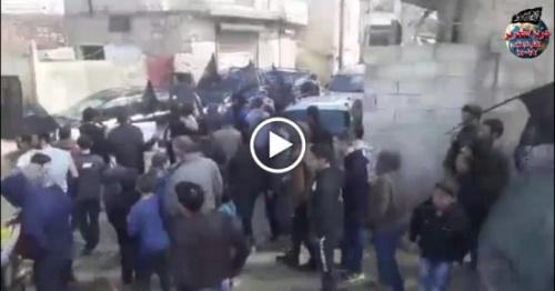 Suriye Vilayeti: Şam Devriminin Azim ve Kararlılığını Tasdiklemek İçin Sarmada'da Gösteri