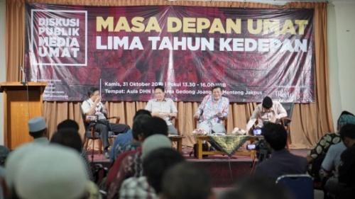Media Umat Gazetesi Konuşması: Önümüzdeki Beş Yılda Ümmetin Geleceği, Endonezya'da Daha Belirsiz Olacak